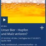 NDR Hopfen und Malz verloren