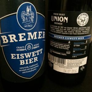 BREMER Eiswett Bier